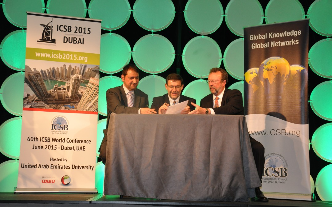 BREAKING NEWS: ICSB 2015 to be hosted by United Arab Emirates University in Dubai